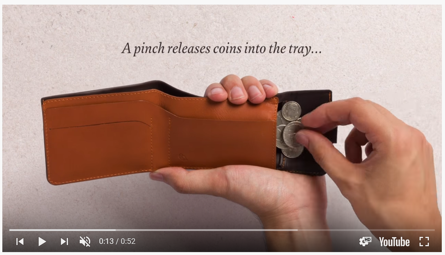 Video product Bellroy
